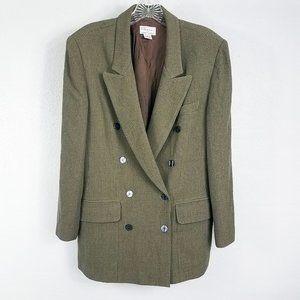 Anne Klein Women's Wool Suit Coat Jacket Blazer